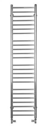 SBH SS400 Mega Slim Flat Straight Stainless Steel Heated Towel Rail
