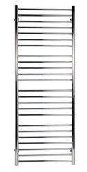 SBH SS401 Mega Flat 600 Straight Stainless Steel Heated Towel Rail