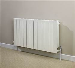 Supplies 4 Heat Saxon Horizontal Aluminium Radiator