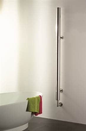 Aestus Shaft Stainless Steel Radiator - Towel Rail