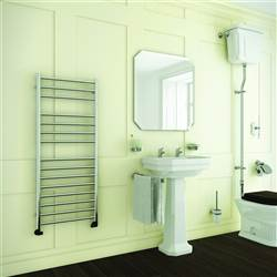 DQ Double Quick Siena Stainless Steel Towel Rail