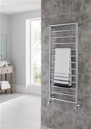 Vogue Smooth Wall Mounted Towel Rail CN035