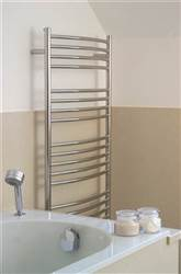 JIS Sussex Adur curved heated towel rail
