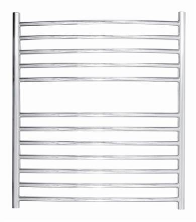 JIS Sussex Camber curved heated towel rail
