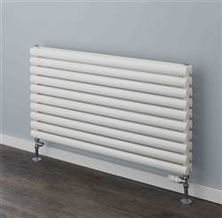 Supplies 4 Heat Tallis White Horizontal Tube Radiator