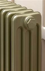 The Radiator Company Telford 6 Column Lacquered Cast Iron Radiator