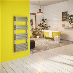 DQ Double Quick Tesoro Heated Towel Rail