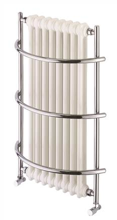 Vogue Nexus Grand 4 Wall Mounted Heated Towel Rail TM004