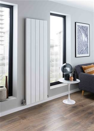 The Radiator Company Torre Vertical Designer Radiator