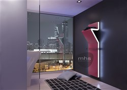 MHS Tratto Electric Vertical Designer Radiator