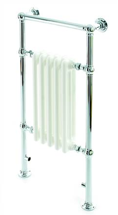 DQ Double Quick Twyford Traditional Towel Rail
