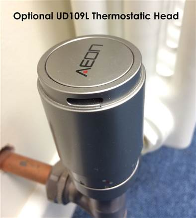 Ultraheat Aeon Radiator Valves