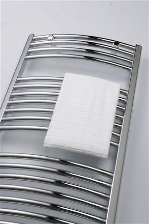 Ultraheat Chelmsford Curved Chrome Heated Towel Rails