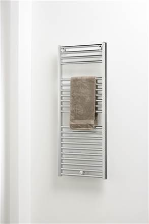Ultraheat Chelmsford straight chrome electric towel rail