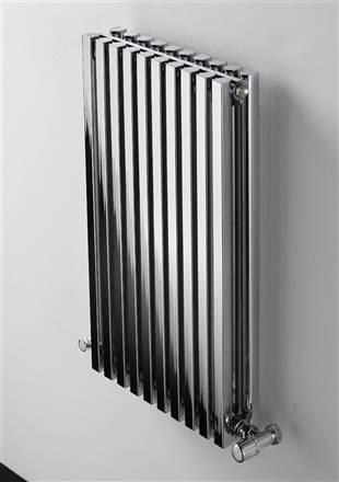 Ultraheat Klon Chrome Vertical Deisigner Radiator