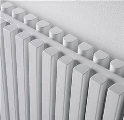 Ultraheat Klon White Horizontal Deisigner Radiator