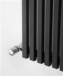 Ultraheat Klon Black and Anthracite Horizontal Deisigner Radiator