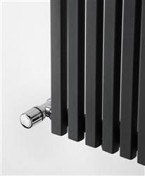 Ultraheat Klon Charcoal Horizontal Deisigner Radiator