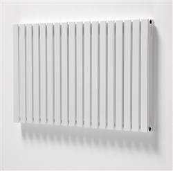 Ultraheat Linear White Horizontal Designer Radiator