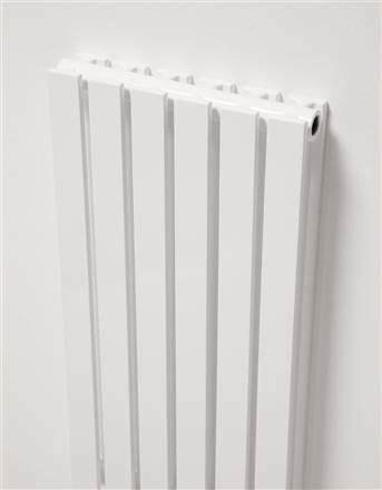 Ultraheat Linear White Vertical Designer Radiator