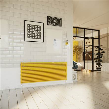 DQ Double Quick Cube Single Horizontal Radiator