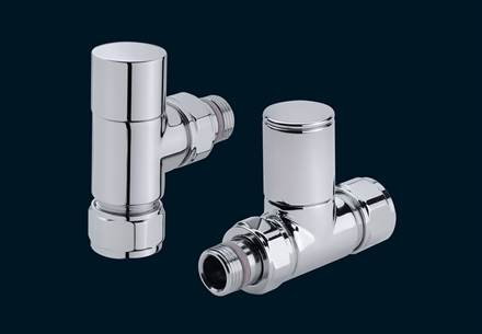 Bisque Valve Set S Mixed Manual Radiator Valves