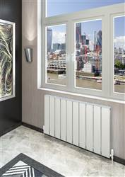 Warmrooms Cubo Horizontal Aluminium Radiator