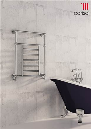 Carisa Vintage Steel Traditional Towel Rail