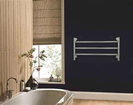 Vogue Vivid IV Wall Mounted Horizontal Towel Rail IVCN021
