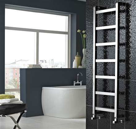 Vogue Boxa Wall Mounted Heated Towel Rail CN009