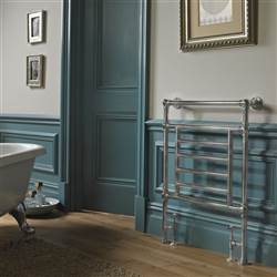 Vogue Elizabeth Floor Mounted Heated Towel Rail