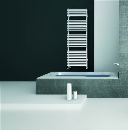 DQ Double Quick Vulcano Heated Towel Rail  Electric
