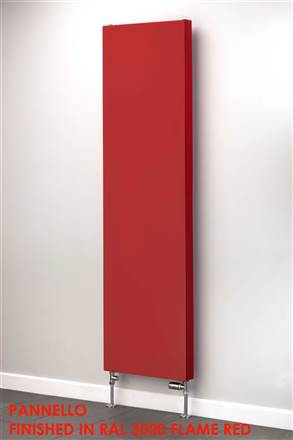 Warmrooms Pannello Flat Panel Coloured Radiator