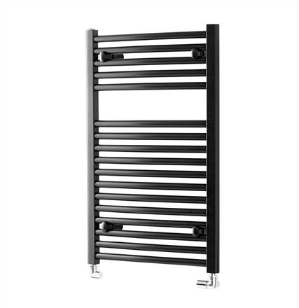 Towelrads Pisa Black Curved Towel Rail