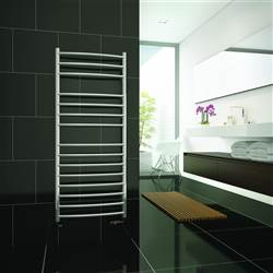 DQ Double Quick Zante Stainless Steel Towel Rail