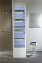 Zehnder Ax Spa Double Designer Heated Towel Rail