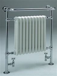 Zehnder  Balmoral Traditional Heated Towel Rail