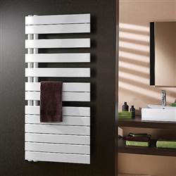 Zehnder Roda Spa Asym Designer Heated Towel Rail