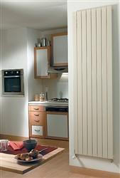 Zehnder Roda Vertical Designer Radiator - Single