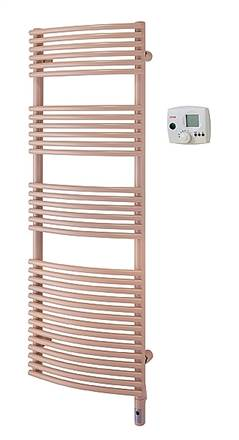Zehnder Sfera Bow Electric Heated Towel Rail