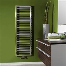 Zehnder Subway Electric Stainless Steel Heated Towel Rail
