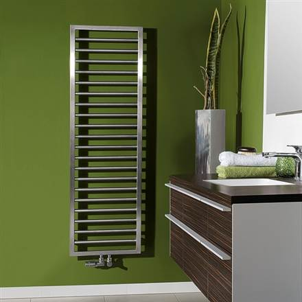 Zehnder Subway Stainless Steel Designer Heated Towel Rail