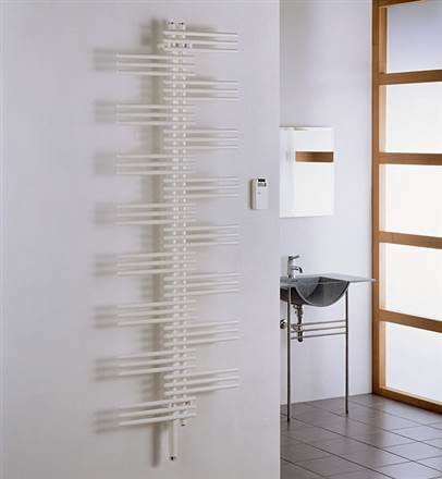 Zehnder Yucca Sym Electric Heated Towel Rail