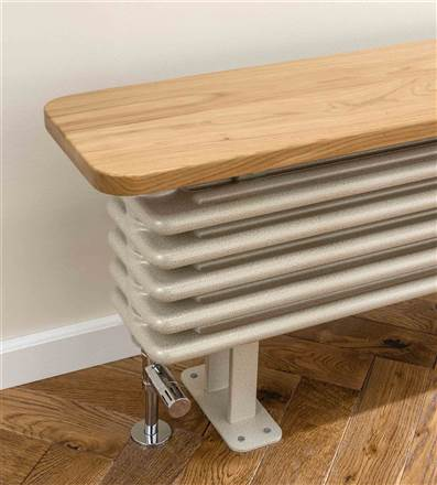 The Radiator Company Ancona Bench Radiator Seat