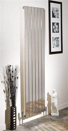 Apollo Capri Single Chrome Radiator
