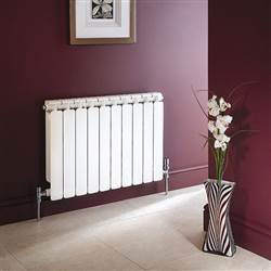 Apollo Modena Curved Horizontal Aluminium Radiator