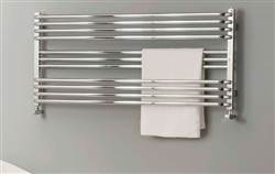 The Radiator Company BDO Poll Chrome Heated Towel Rail