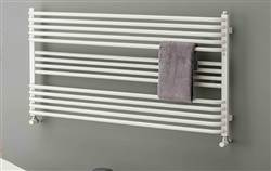 The Radiator Company BDO Poll White Heated Towel Rail