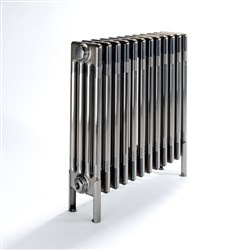 Bisque Classic 2 Column Lacquered Bare Metal Radiators