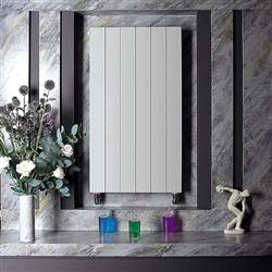Bisque Decorative Panel Vertical Radiator